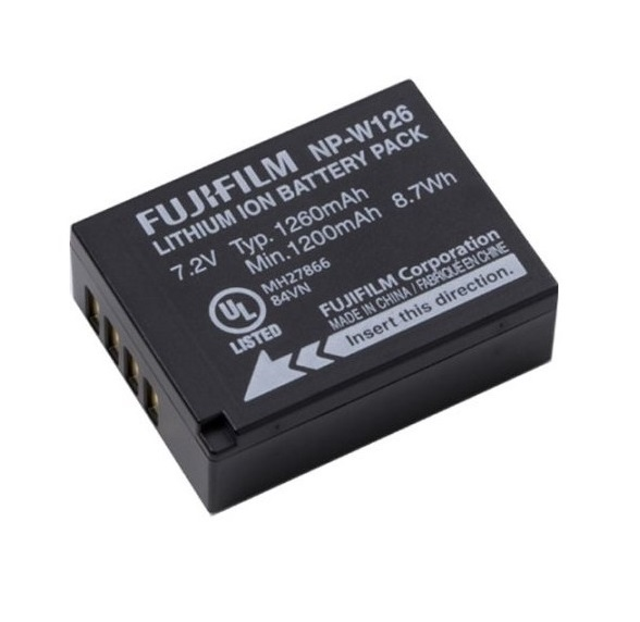 Batteria di ricambio Li-Ion FUJI NP-W126