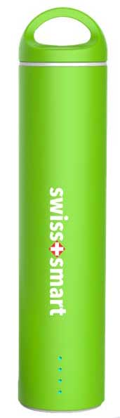 SWISS PRO POWER BANK 2600 MAH arancio