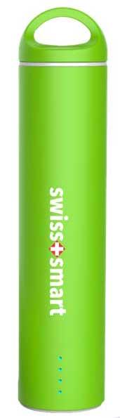 SWISS PRO POWER BANK 2600 MAH verde