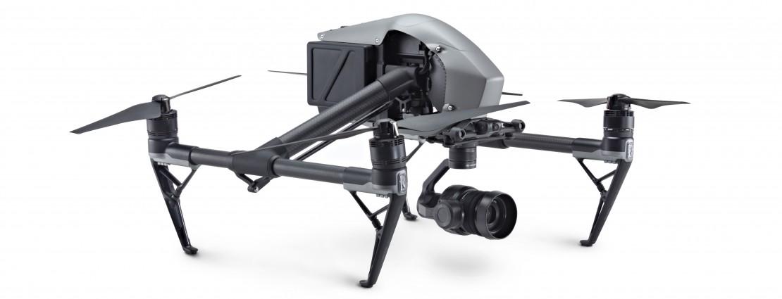 DJI INSPIRE-2, Drone + Licenza CinemaDNG e Apple ProRes + Videoc. ZENMUSE X5S