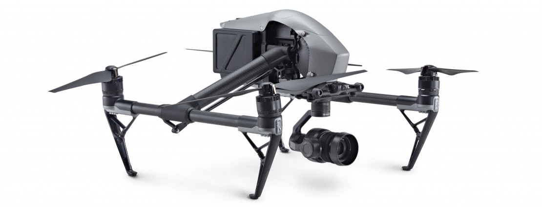DJI INSPIRE-2, Drone + Licenza CinemaDNG e Apple ProRes