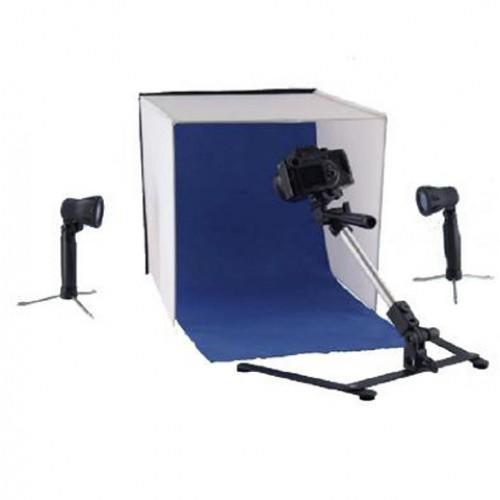 Falcon Eyes Photo Box  40x40x40 con 2 luci 50w