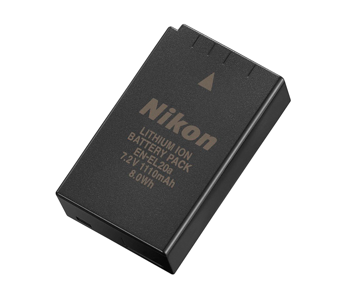EN-EL20a Batteria ricaricabile Li-ion x Nikon 1 V3