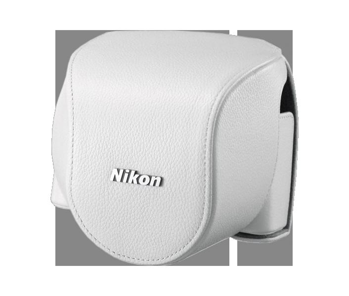 CB-N4000 White custodia inferiore Nikon 1 V2