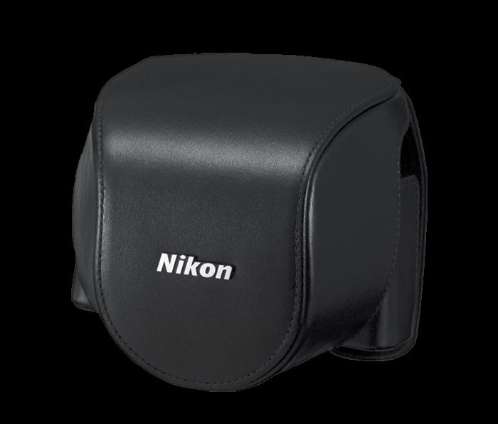 CB-N4000SA Black set custodia x Nikon 1 V2+10-30mm