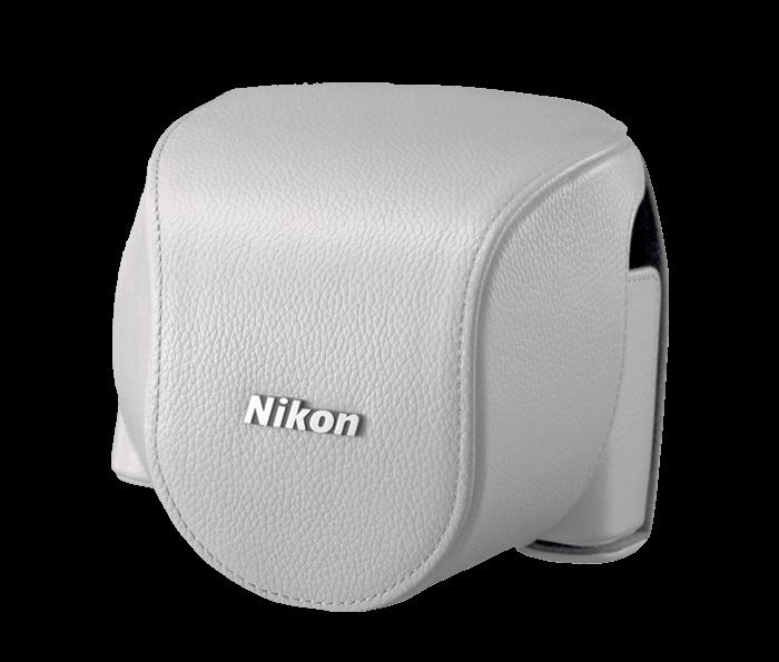 CB-N4000SB White set custodia x Nikon 1 V2+10-30mm