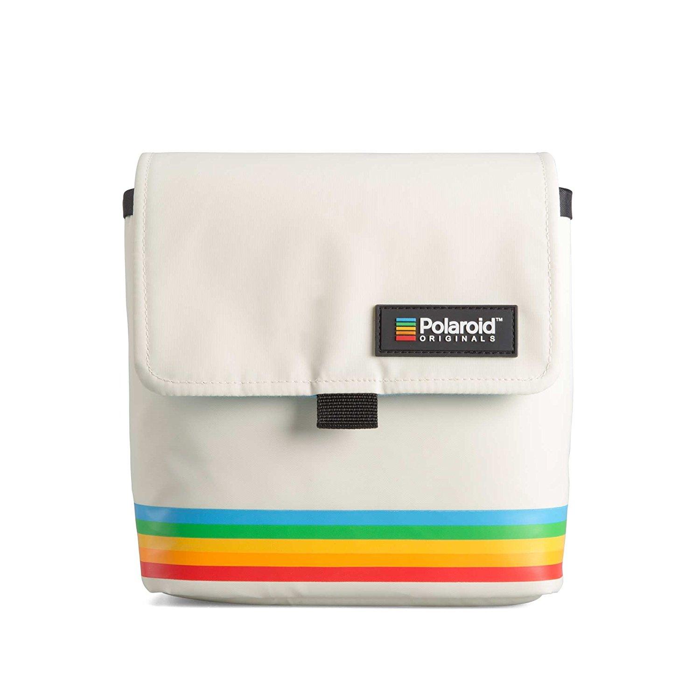 BOX CAMERA BAG- WHITE