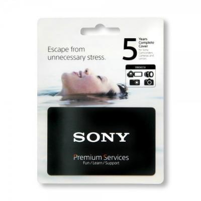 Copertura Completa - danni accidentali e garanzia di 5 anni per i prodotti Digital Imaging di Sony