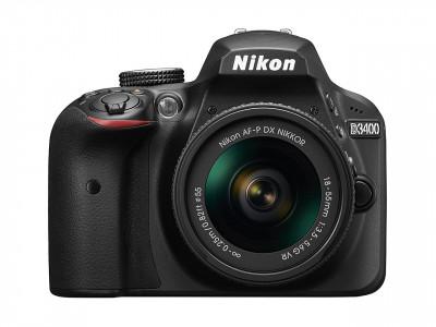 D3400 + AF-P 18-55 VR + SD 8GB Lexar Premium 300x