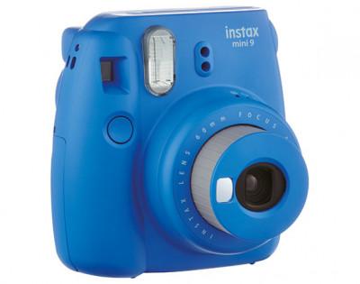 Fujifilm Instax Mini 9 Cobalt Blue Fotocamera Istantanea