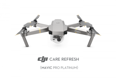 DJI Care Refresh Mavic Pro Plat Card