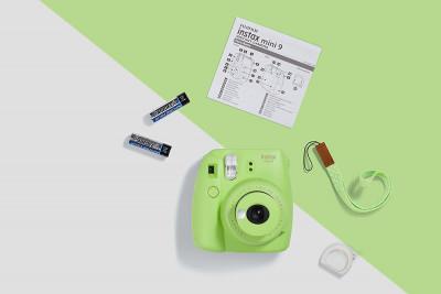 Fujifilm Instax Mini 9 Lime Green Fotocamera Istantanea