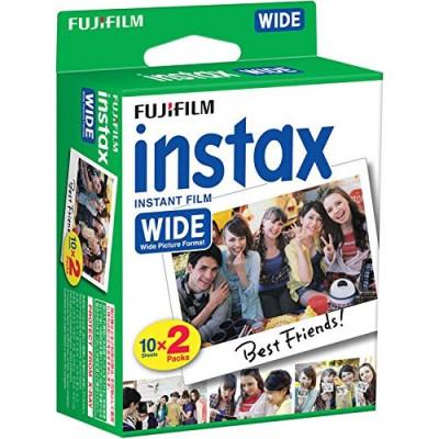 INSTAX WIDE COLORE GLOSSY 10 fogli x 2