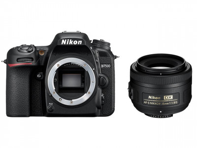 D7500 + AF-S DX 35mm f/1.8G + SD 8GB Lexar