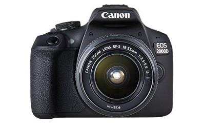 EOS 2000D Kit EF-S 18-55mm F3.5-5.6 IS II