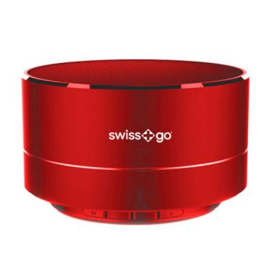 SWISS-GO BT-001 CLIO SPEAKER BLUETOOTH RED